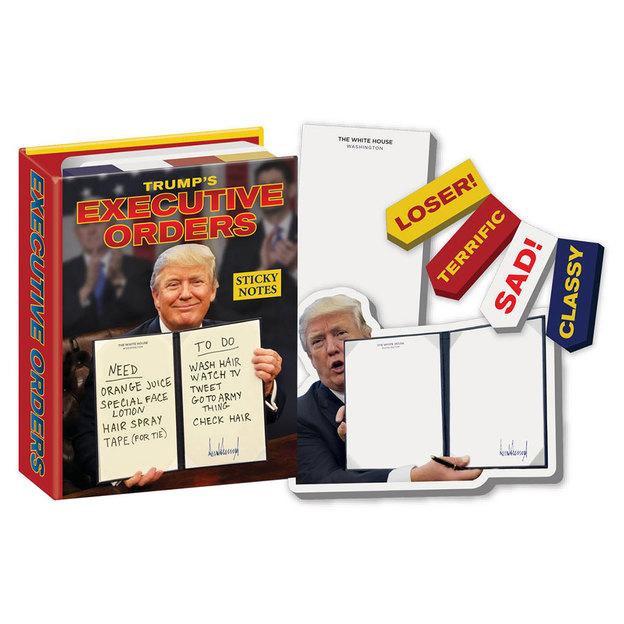 Witzige Präsident Trump Notizzettel
