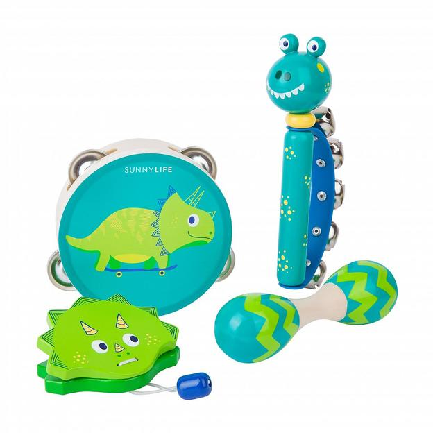 Instruments de musique Dino Sunnylife, 4 pièces