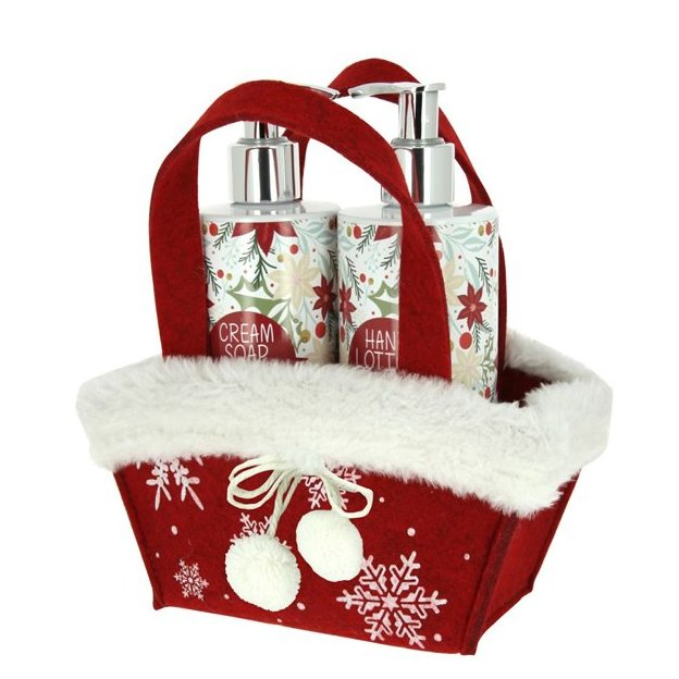 Geschenkset White Christmas Handsoap & Handlotion
