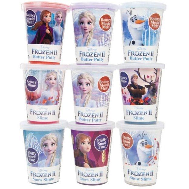 Frozen 2 Slime - 9 verschiedene Stück
