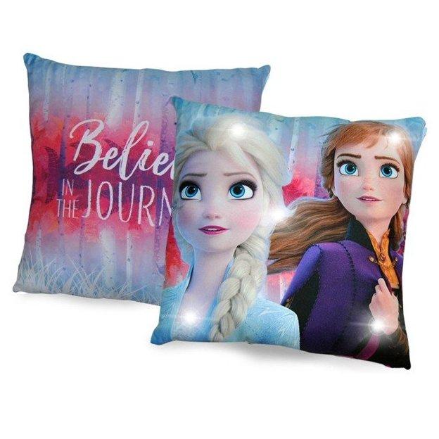 2 coussins LED La Reine des neiges 2 Disney
