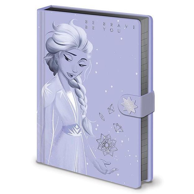 Frozen II  Premium Notizbuch Lilac Snow Elsa