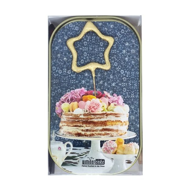 """Wondercake """"Torte mit Herz gold"""""""