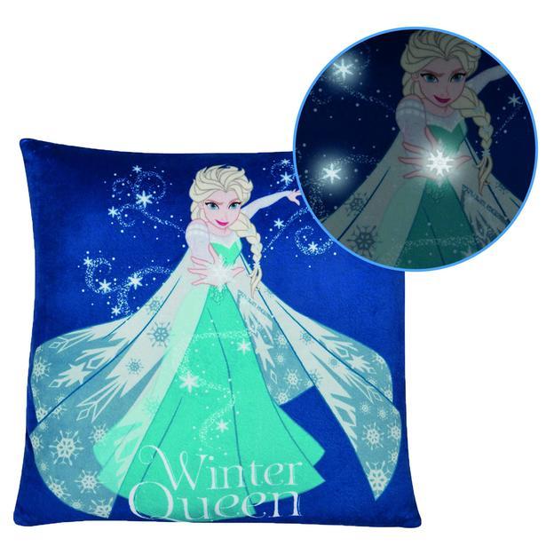 """Disney Frozen II  Kissen Elsa """"Winter Queen"""" mit LED's"""
