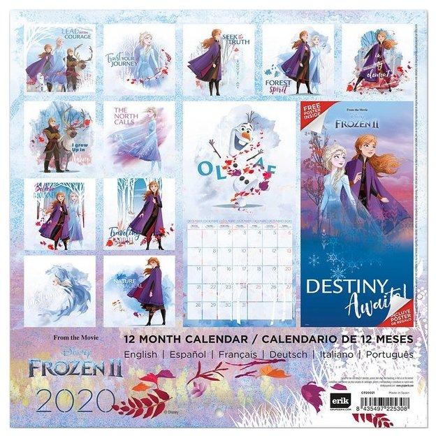 Disney Frozen 2 Kalender 2020 Eiskönigin