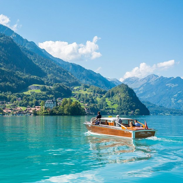 Traumhafte Bootstour in Interlaken (für 1 Person)