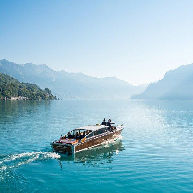 Traumhafte Bootstour in Interlaken (für 2 Personen)
