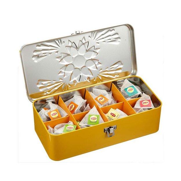 Lipton Geschenkbox edle Teebox