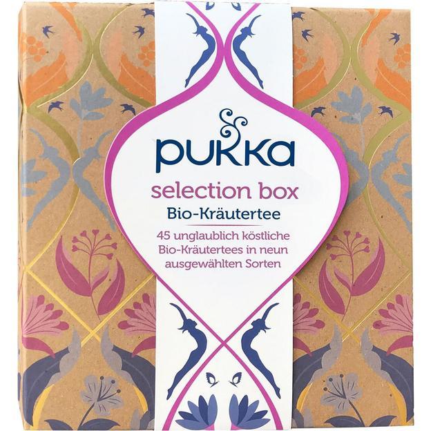 Boîte de sélection de thé Pukka