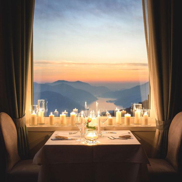 Romantische Auszeit über dem Luganersee (für 2 Personen)