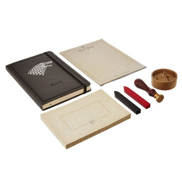 Set papeterie Deluxe House Stark Game of Thrones