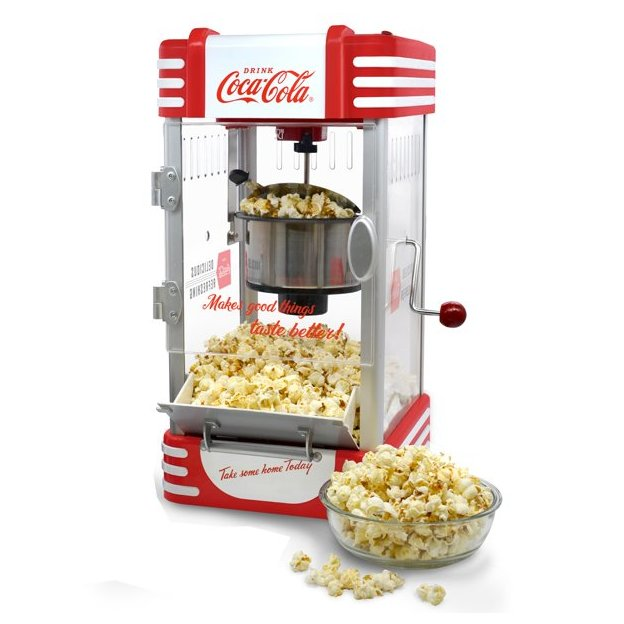 Machine à pop-corn Coca-Cola