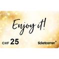 Ticketcorner-Geschenkkarte CHF 25.–