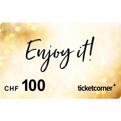Ticketcorner-Geschenkkarte CHF 100.–