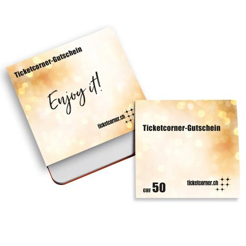 Ticketcorner-Gutscheinbox CHF 50.–