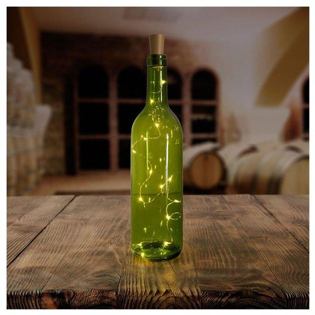 Bouchon de bouteille LED - guirlande lumineuse