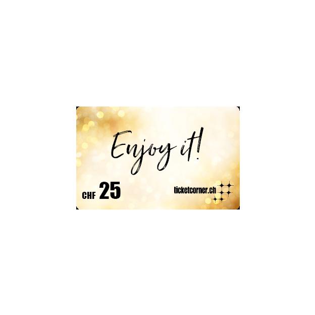 Ticketcorner-Geschenkkarte