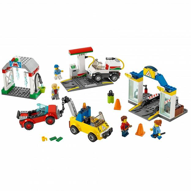 LEGO City La station-service