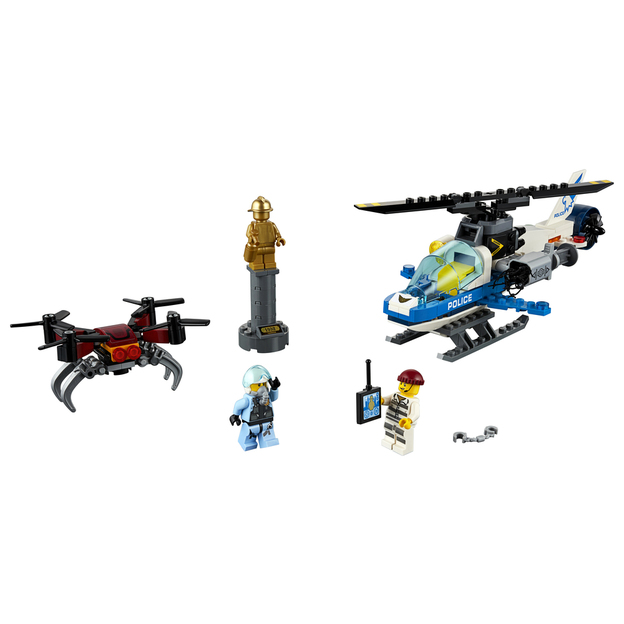 LEGO City Polizei Drohnenjagd
