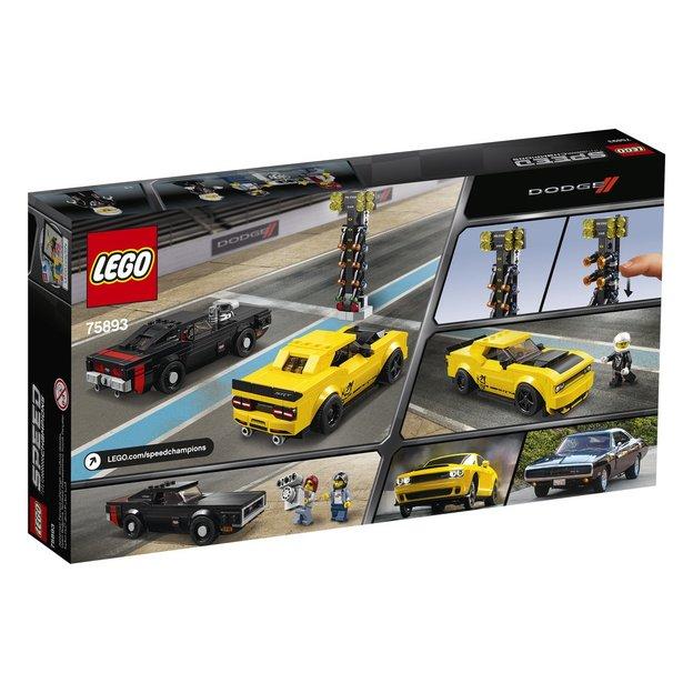 LEGO Speed Champions 2018 Dodge Challenger SRT Demon und 1970 Dodge Charger R/T