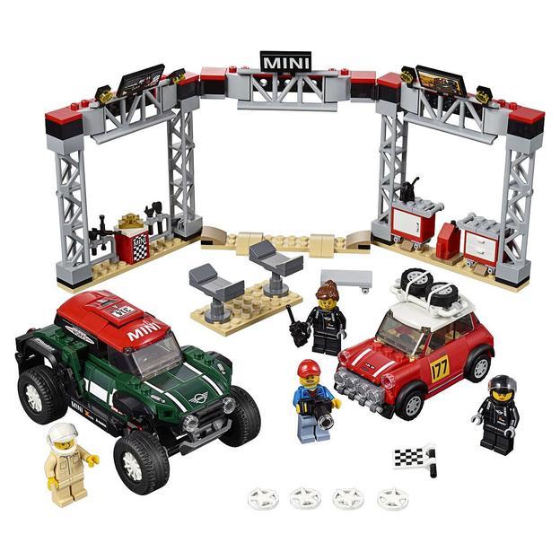 LEGO Speed Champions  Mini Cooper S Rally 1967 et Mini John Cooper Works Buggy 2018