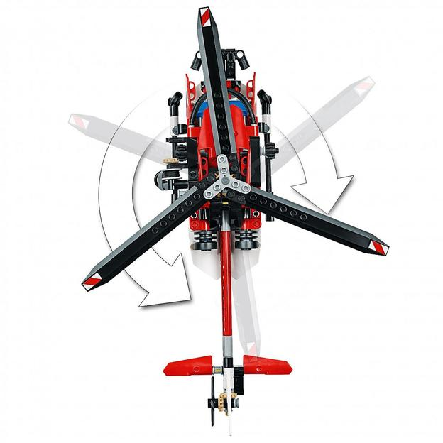 LEGO Technic Rettungshubschrauber