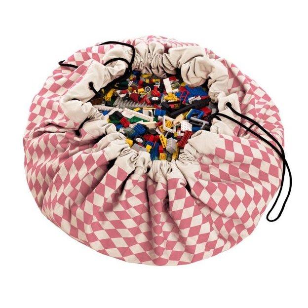 Play & Go sac et tapis de jeux pink