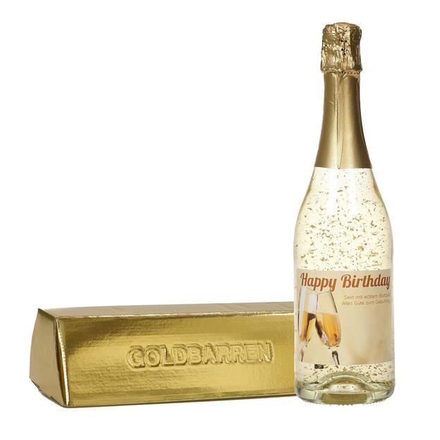 Goldsekt Happy Birthday 0.75l