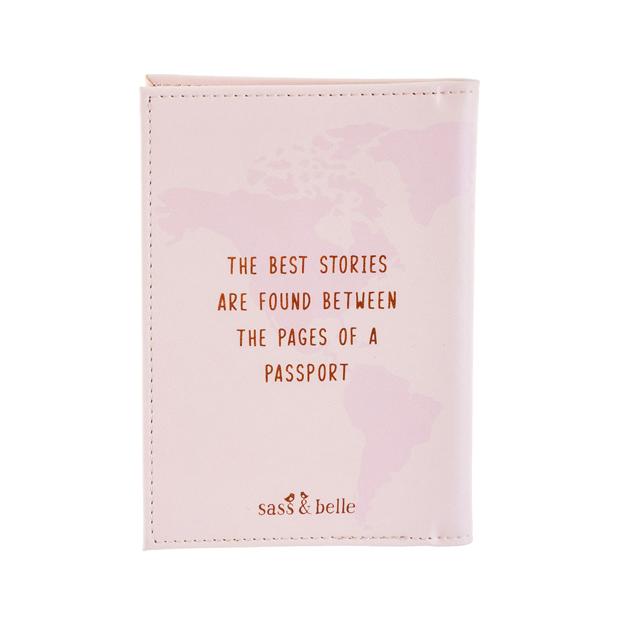 Etui pour passeport et documents d'identité World Explorer