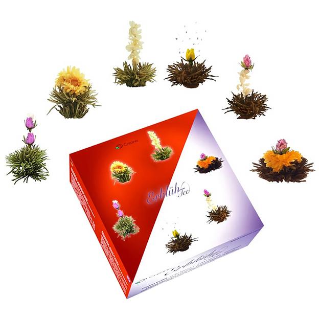 Erblühtee Teebox Creano Schwarztee / Weisstee