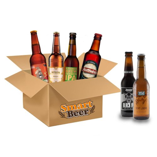Image of Bier Abonnement ausgewählter Schweizer Kleinbrauereien für 3 Monate, inkl. Starter Pack