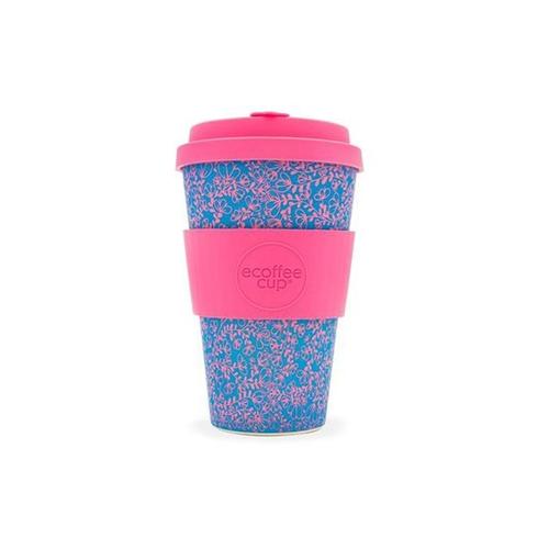 Image of Bambus Ecoffee Cup to Go Fuchsia 400 ml Fuchsia