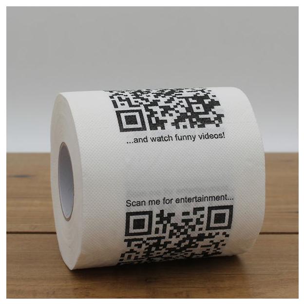 Papier toilette QR Code