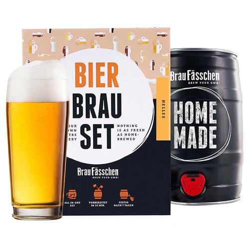 Image of Bierbrauset Lager / Helles - Dein eigenes Fass Bier schnell und einfach selber brauen