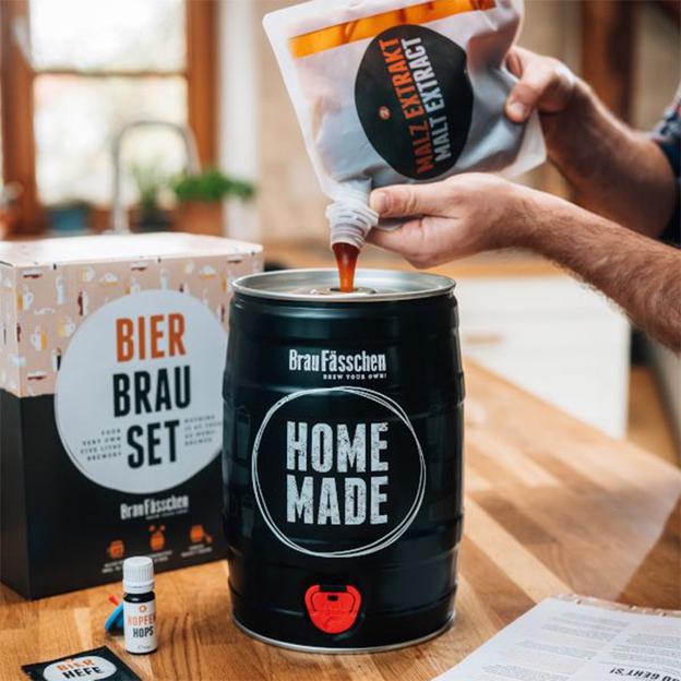 Bierbrauset Lager Helles Dein Eigenes Fass Bier Schnell Und Einfach Selber Brauen