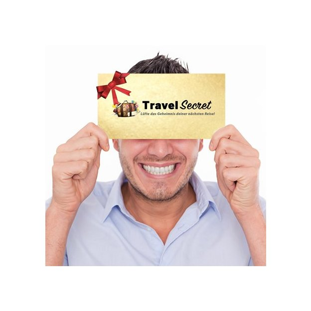 Überraschungsreise von TravelSECRET Deluxe (für 1 Person)