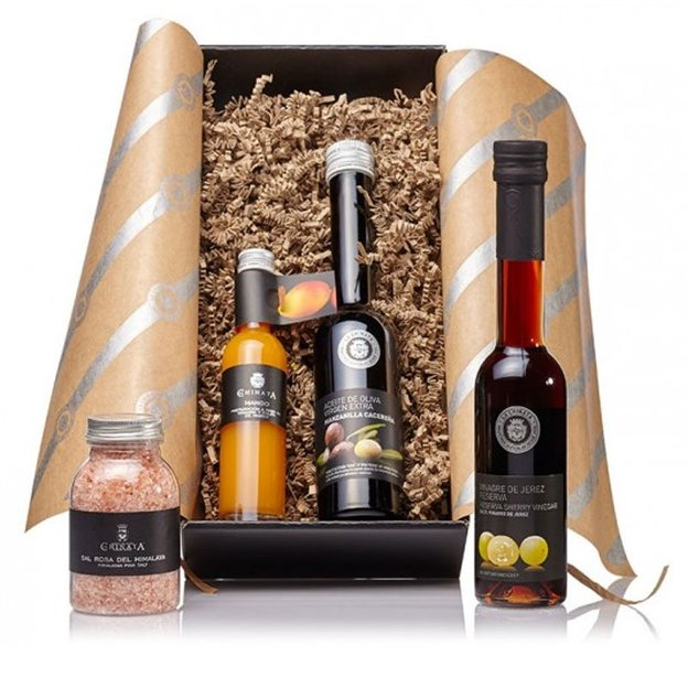 Coffret gourmand La Chinata Vinaigre et huile