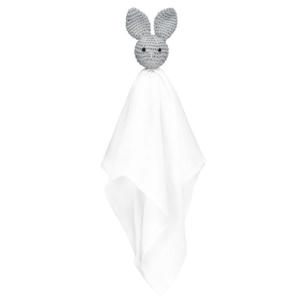 Doudou lange lapin gris, Maylily