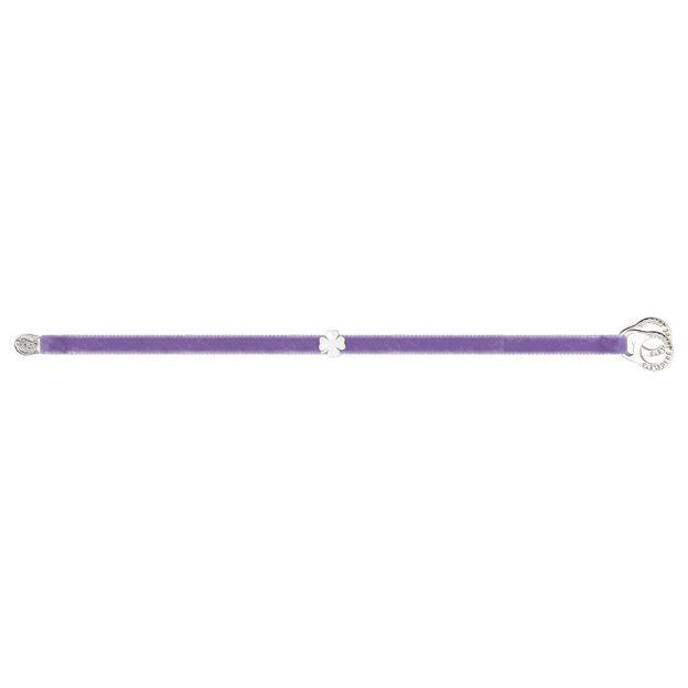 Velvet Armband Kleeblatt
