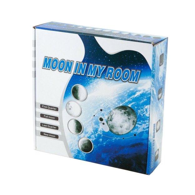 Mond Wandleuchte mit 12 verschiedenen Mondphasen