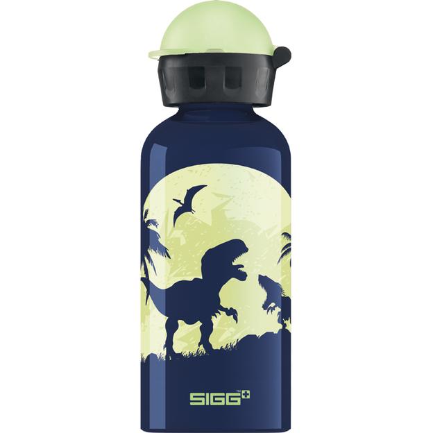 SIGG Trinkflasche 0.4l Glow Moon Dinos