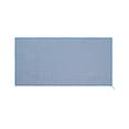 Linge pandoo en bambou 130 x 80 cm, bleu