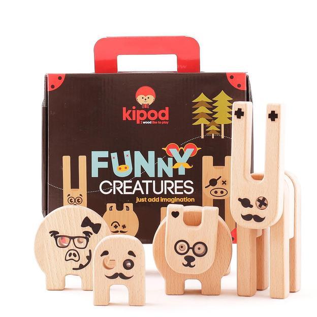 Kipod Funny Creatures - Laisse libre cours à ton imagination