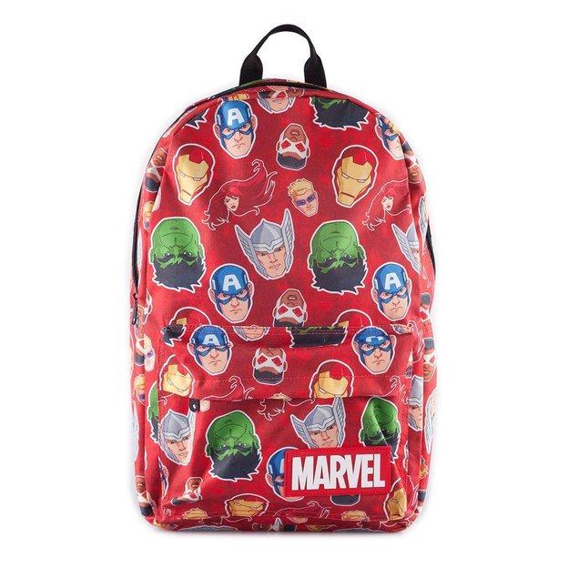 Marvel Characters AOP Rucksack
