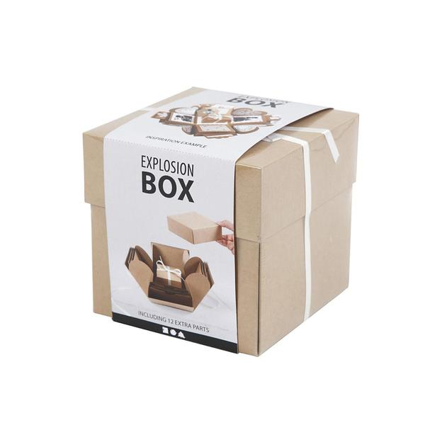DIY Überraschungsbox / Explosionsbox Nature