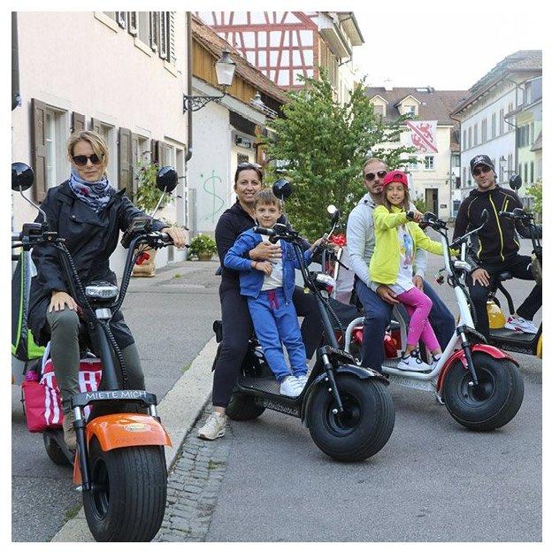 Journée en scooter électrique Fatboy dans la vallée de la Töss (pour 1 personne)