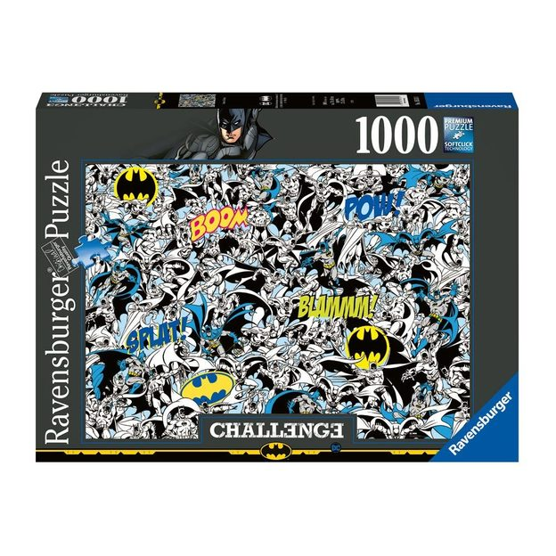 DC Comics Ravensburger Challenge Puzzle Batman, 1000-teilig