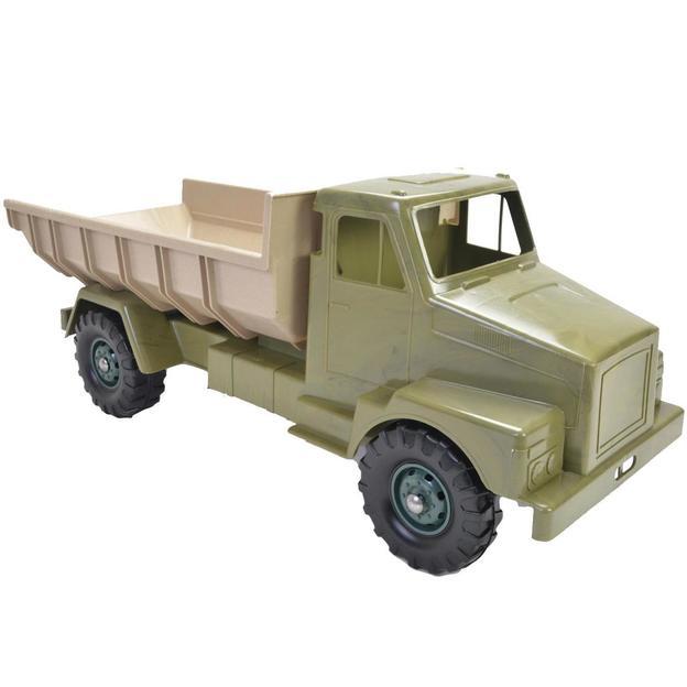 Camion-benne 70 cm en plastique recyclé Green Bean