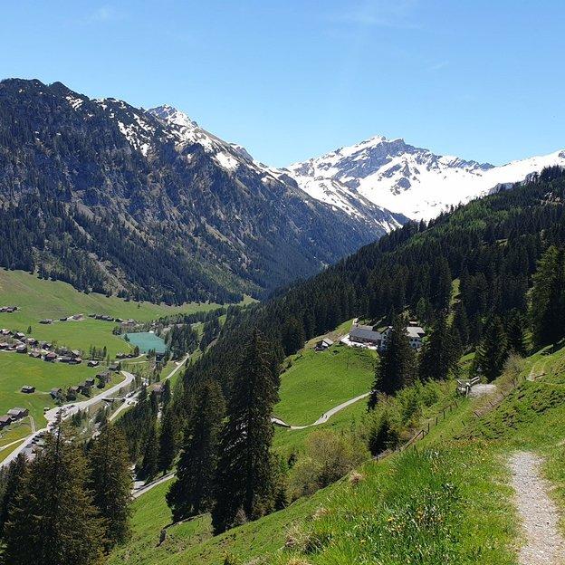Randonnée de luxe d'une demi-journée au Liechtenstein (1 personne)