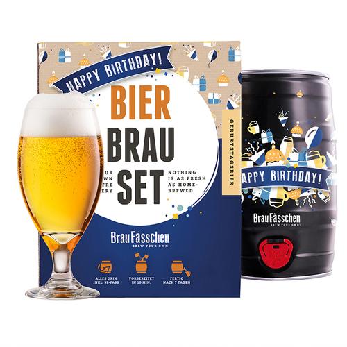 Image of Geburtstags-Bierbrauset - Dein eigenes Fass Bier schnell und einfach selber brauen